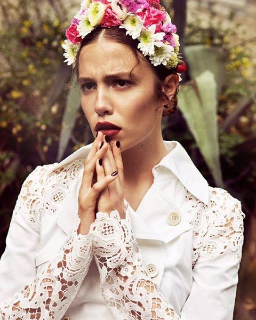 Midikennov model Barbara Micek za magazin GOLF