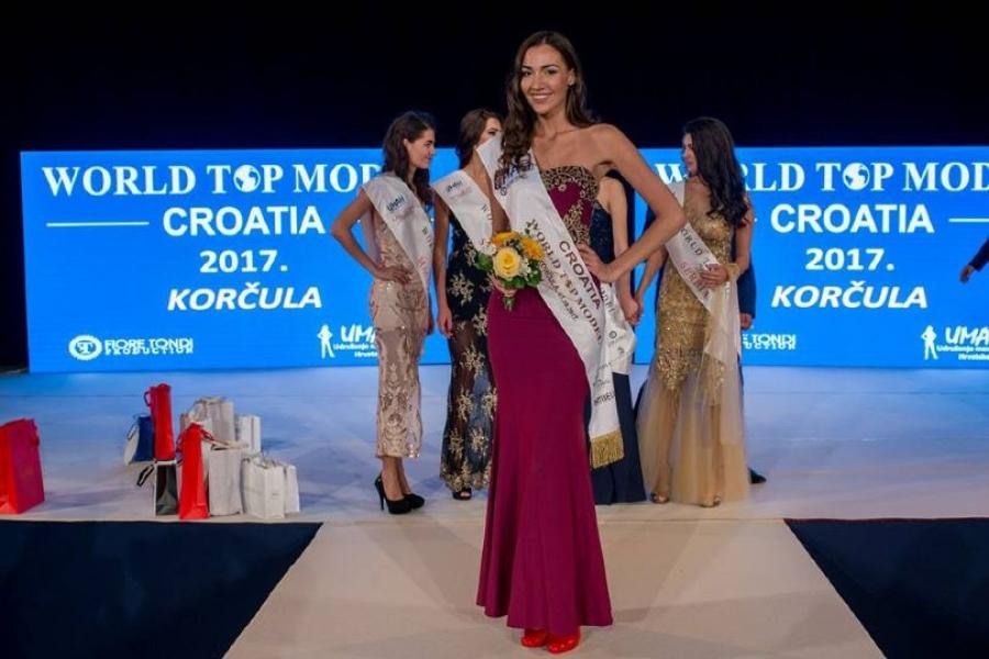 Ljubušanka Ana Gavran pobjednica je izbora World Top Model Croatia