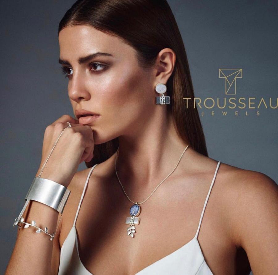 Midikennov model Barbara Micek za poznati brend Trousseau Jewels
