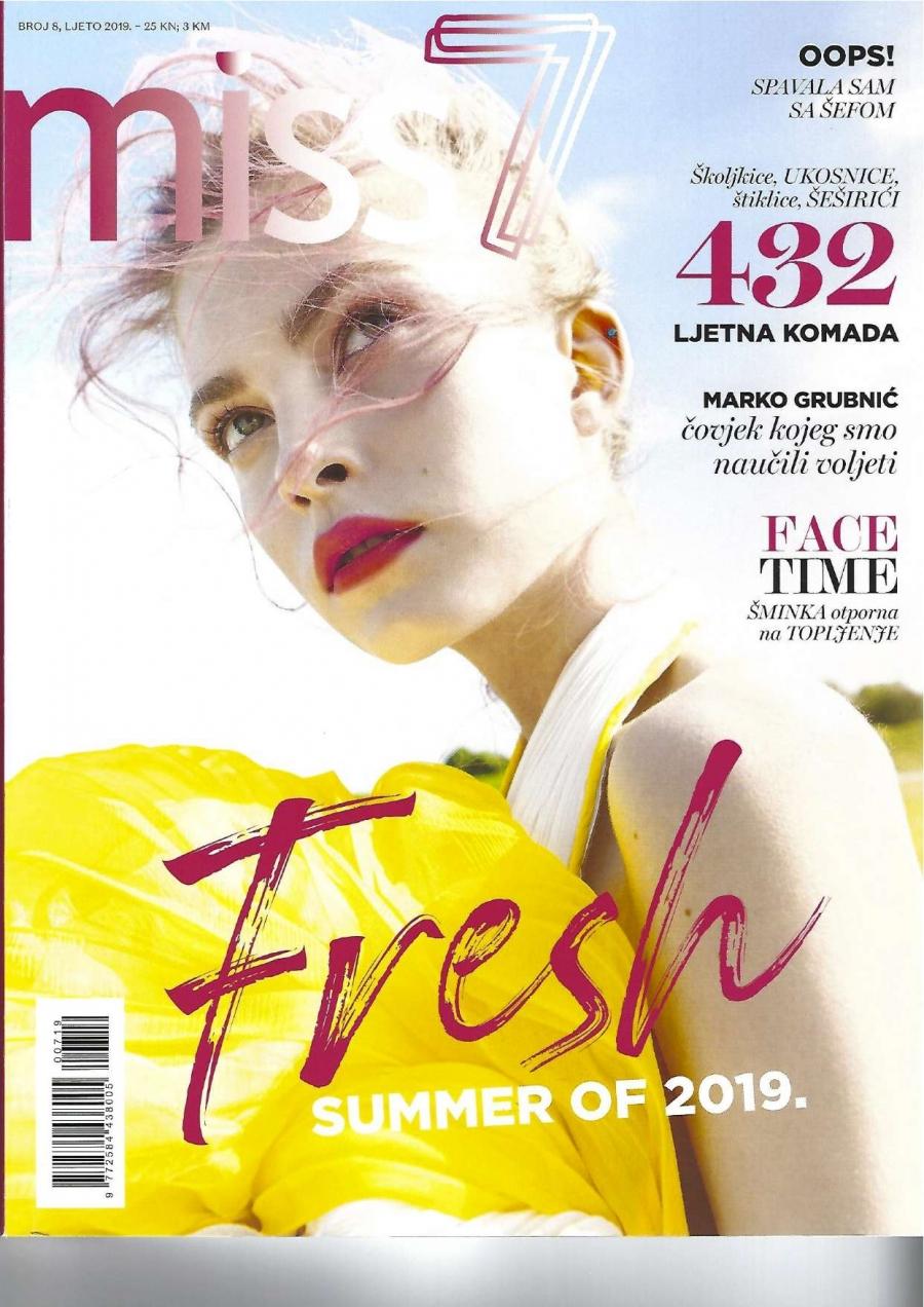 Midikennova ljepotica Klara za naslovnicu modnog magazina Miss 7
