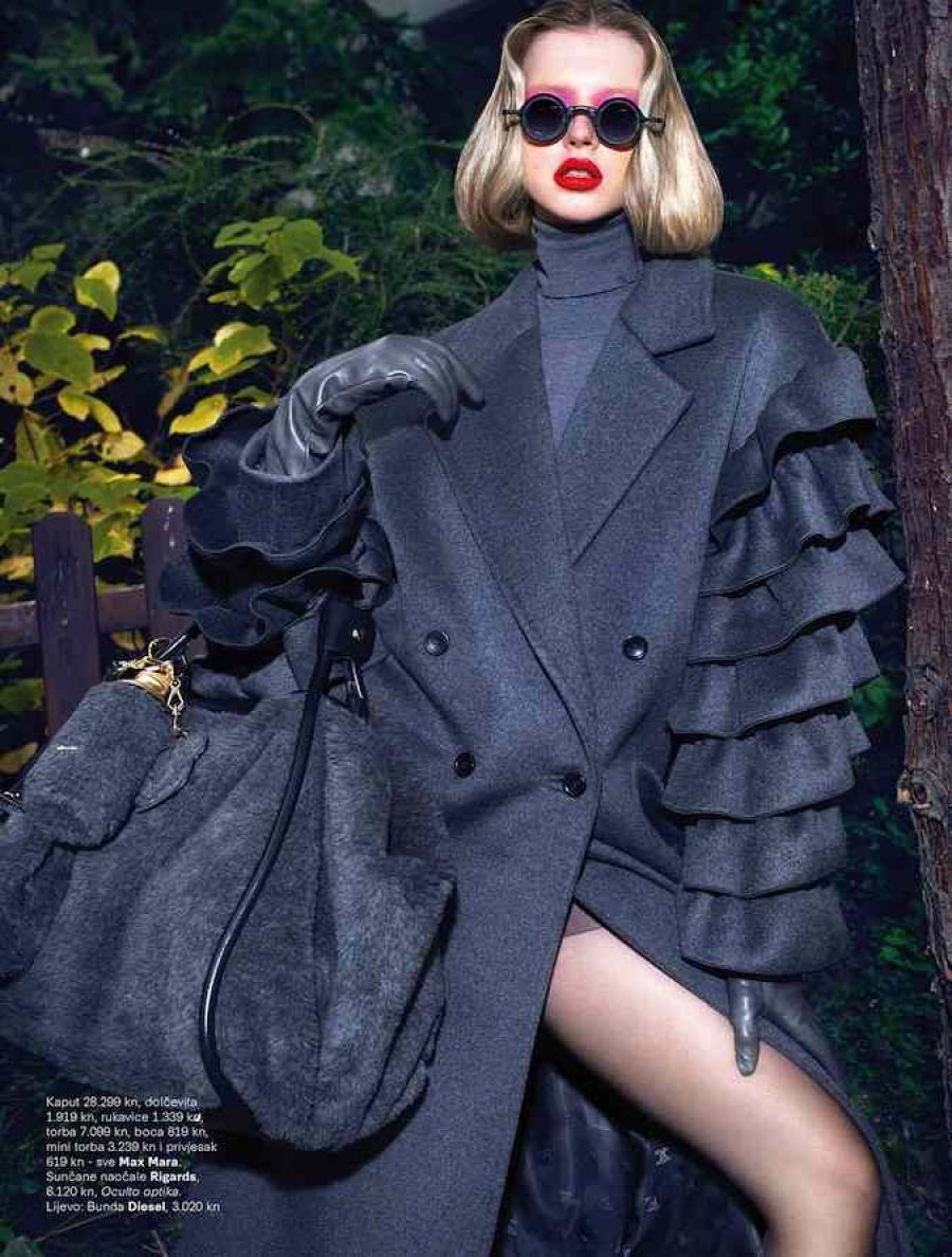 Midikennov model Andrea Jurić za magazin Grazia