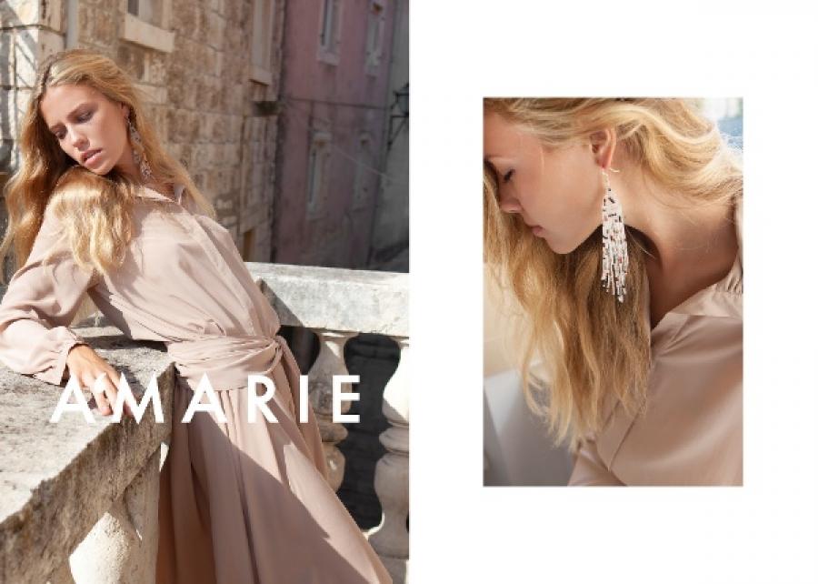 Midikennov model Barbara Micek u najnovijoj kampanji brenda A'MARIE