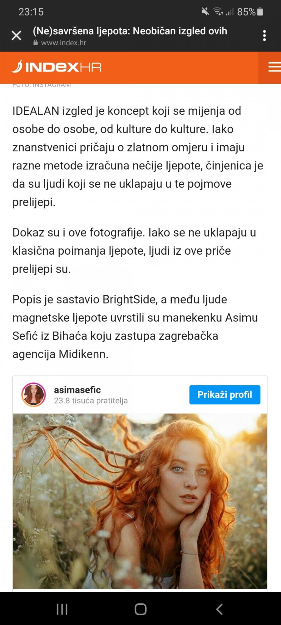 Midikennov model Asima Sefić na popisu BrightSide